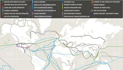 Wanderlust Interactive Travels Map